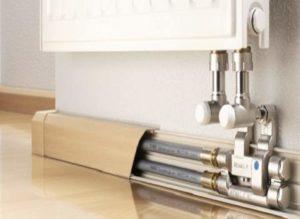 Как спрятать трубы отопления в квартире и частном доме: делаем красиво и тепло- Обзор +Видео