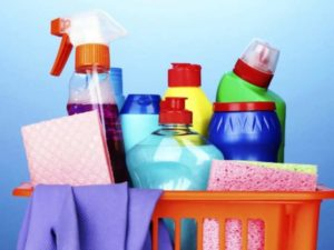 использование химических средств для наведения порядка в доме