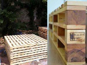 Выполнить сборку поддона из древесины на дачном участке не составит труда