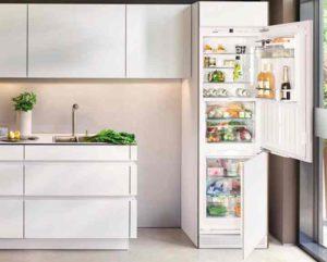 Это прекрасный вариант встроенного холодильника