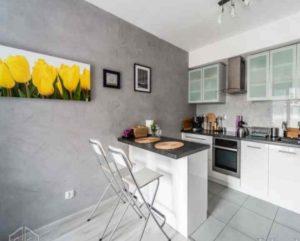 Покрасить стены на кухне является одним из самых бюджетных вариантов
