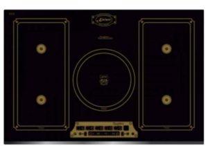 Варочная индукционная электрическая панель, которая выполнена в дизайне «Domino».
