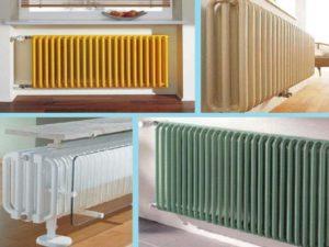 4 вида радиаторов