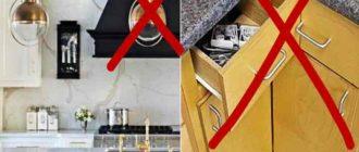 Не должно быть перекоса мебели, и чтобы это проверить, будет достаточно измерить обе диагонали при помощи строительной рулетки.