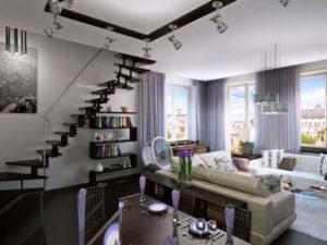 Если говорить о ремонте таунхауса, то черновая отделка очень похожа на то, что обычно делают в квартирах, которые расположены в новостройке.