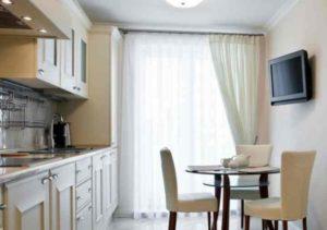 Где лучше разместить телевизор на кухне + фото и рекомендации от дизайнера- Обзор +Видео