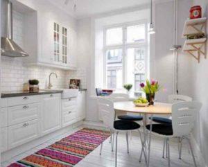 Кухня в студии – скандинавский стиль как идеальный вариант оформления