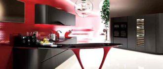 касательно цветового решения кухонного пространства