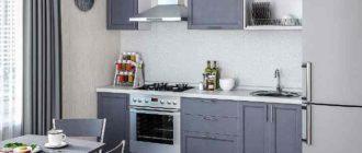 выбрать оттенок остальных предметов на кухне, а также отделки поверхности стен.