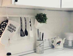 планировать розетки стоит после того, как будет утвержден дизайн кухни