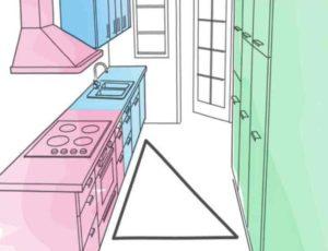 Островок для кухни, огромное количество предметов бытовой техники