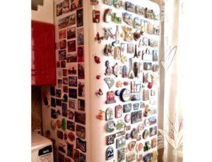 Куда убрать магниты с холодильника, если нет места + как спрятать остальные сувениры