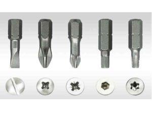 Габариты насадок, как правило, стандартизированы под размер диаметра элемента крепления