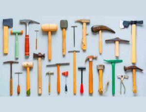 Разновидности молотков и их назначение по профессиям и типу работ