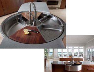 Определяем форму и размер мойки для кухни