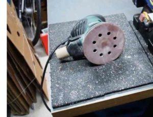 Забитый абразив из-за смола начнет забивать волокна дерева