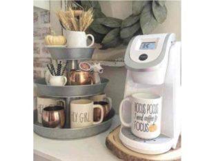 Предметом любви стала полка для кофе и чая