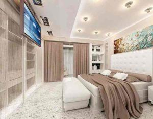 Главным назначением спальни является дарить спокойствие