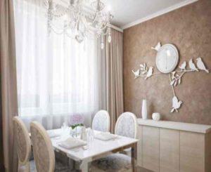 Особый шарм помещения можно получить, если поставить межкомнатные двери в нейтральном цвете