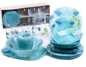 Гигиеничность – стеклянная гладкая поверхность посуды