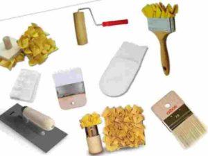 Инструменты для краски