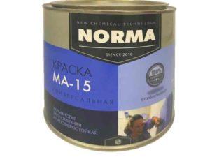 Краска МА-15 – ее применение, технические характеристики и свойства