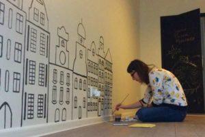 Как научиться рисовать красками на стенах дома – помощь новичкам