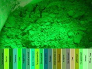 Как получить зеленый цвет при смешивании красок – правила подбора цвета