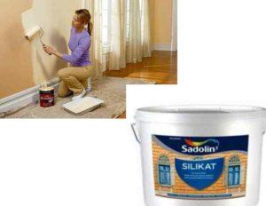Силикатная краска: состав, свойства, характеристики