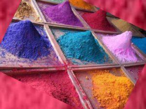 Сухая краска для стен – применение и разновидности