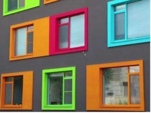 Технология использования краски для ПВХ окон