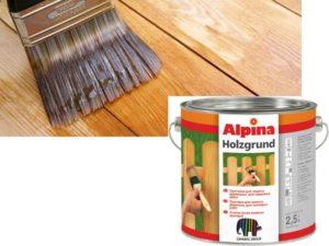 Акриловая грунтовка для древесины