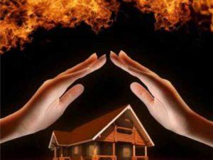 Защита деревянного дома от пожара – как уберечь жилье