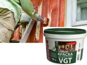 Краска износостойкая для внутренних и наружных работ