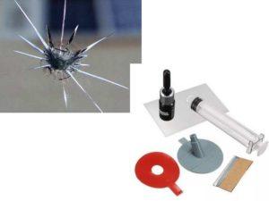 Устранение сколов и трещин на стекле