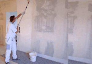 Как грунтовать стены перед покраской и что для этого используют