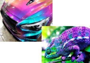 Краски для автомобилей хамелеон – стоимость, свойства, уникальные особенности