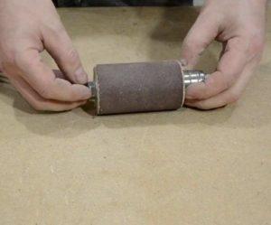 Лайфхак шлифования наждачной бумагой