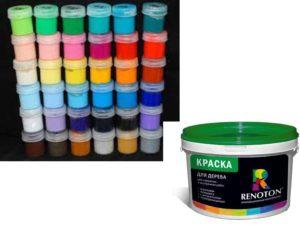 Эти краски имеют высокую степень устойчивости, а так как состав акриловых лакокрасочных составов максимально безопасный для окружающей среды.
