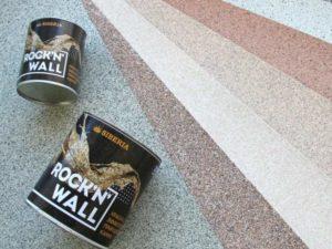 Краска с эффектом натурального камня – область применения и техника нанесения