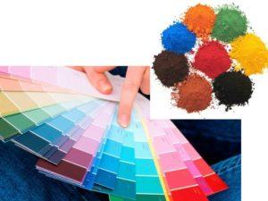 Пигменты для красок – разновидности, классификация