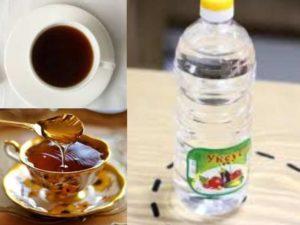 Для производства морилка, которая придает древесине коричневый цвет, важно смешивать молотый кофе и соду.