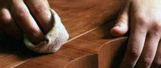 Как избежать образования вмятин на древесине
