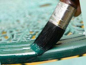 Компоненты кислотостойкой краски для аккумуляторных помещений