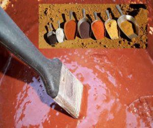 Пигменты для бетона по консистенции