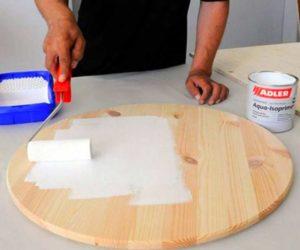 Грунтовка для ДСП под обои и покраску – способ нанесения и выбор состава