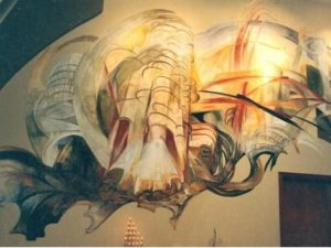 Роспись стен по сырой штукатурке – полное описание технологии