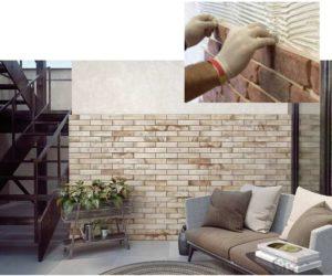 Чем клеить гипсовый декоративный камень на стену – технология