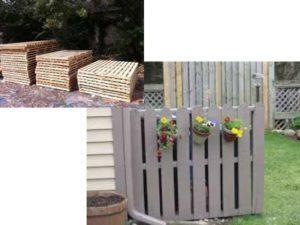 Как недорого сделать забор из поддонов своими руками