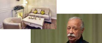 гостиная-столовая, спальня, прихожая и санитарный узел теперь оформлены в одном и том же стиле